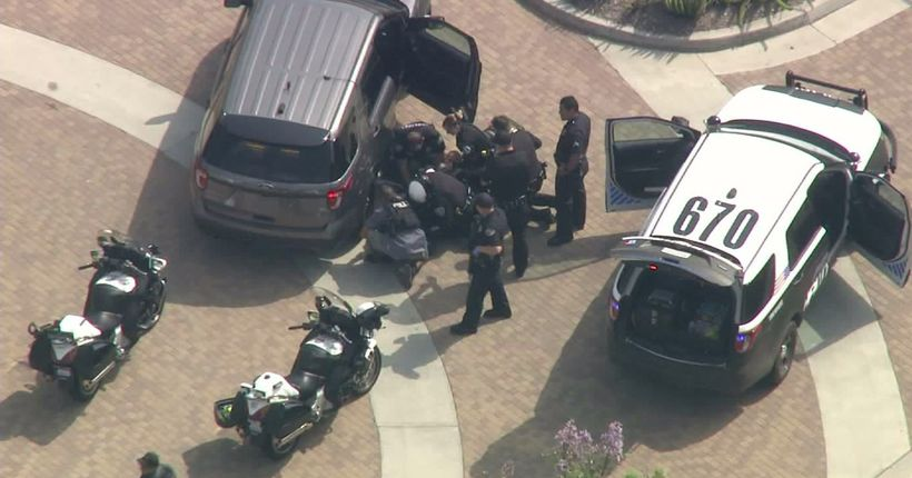 LAPD officer, homicide suspect injured after pursuit ends in gunfight in Hawthorne: Chief Beck