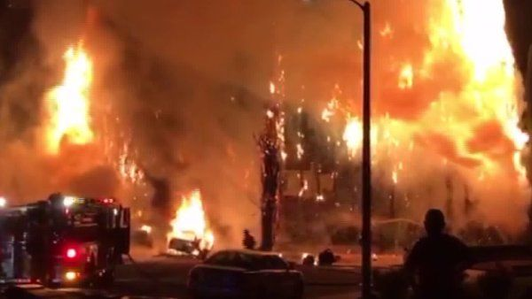 Fireworks suspected of sparking large fire in Hacienda Heights, several others around SoCal