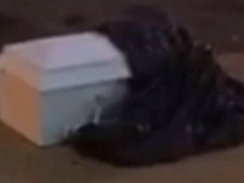 Funeral home worker admits dumping baby's coffin on sidewalk