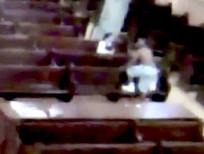 Video shows shirtless man threatening to kill nun inside Brooklyn church: NYPD