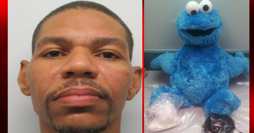 Me want cocaine? Cocaine found inside Cookie Monster doll