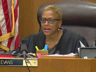 Wayne County Judge Vonda Evans says she was victim of online stalking