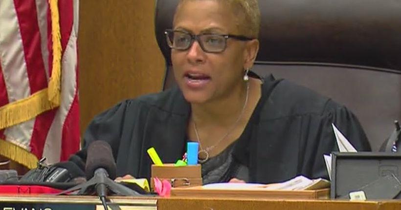 Wayne County Judge Vonda Evans says she was victim of online stalking