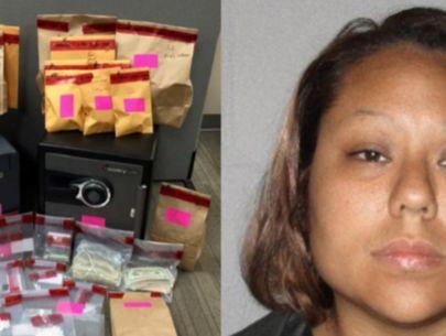 Drug-dealing mom stashed hundreds of pills in kid's room