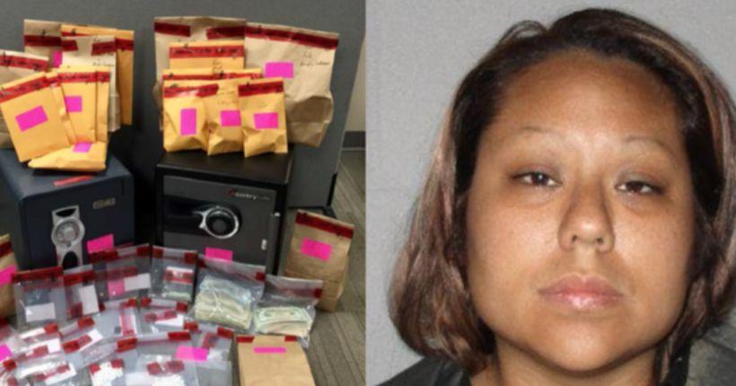 Drug-dealing mom stashed hundreds of pills in child's room, deputies say
