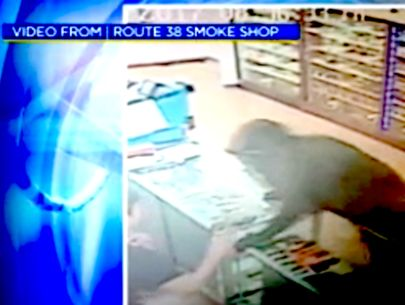 Armed robbery caught on video; clerk thought it was a joke