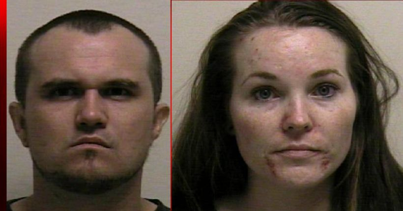 Parents arrested for giving drugs to newborn daughter