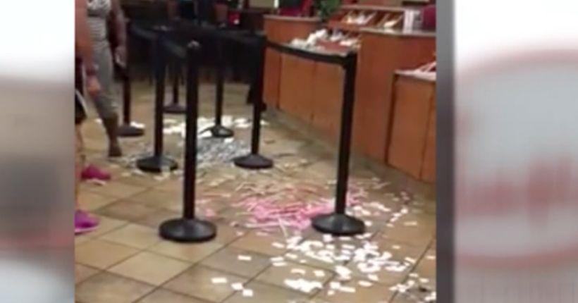 Florida women trash Jacksonville Chick-fil-A during argument over order