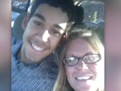 Murdered teen's mother speaks out after son's killer smiles at sentencing