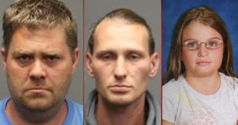 Court Docs: Men were raping 11-year-old when they killed her