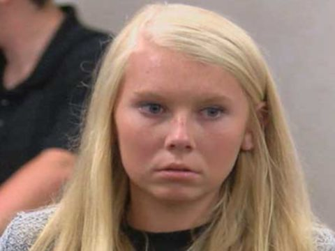 Ex-cheerleader who buried baby in yard found not guilty of murder