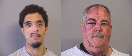 Two men arrested for stealing vehicle, assaulting officers