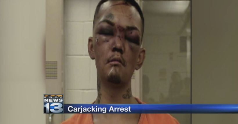 Police arrest man accused of trying to carjack three football players