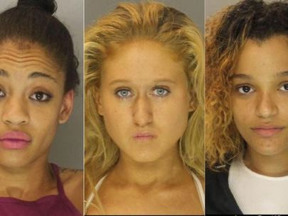 3 women charged with allegedly beating, robbing woman