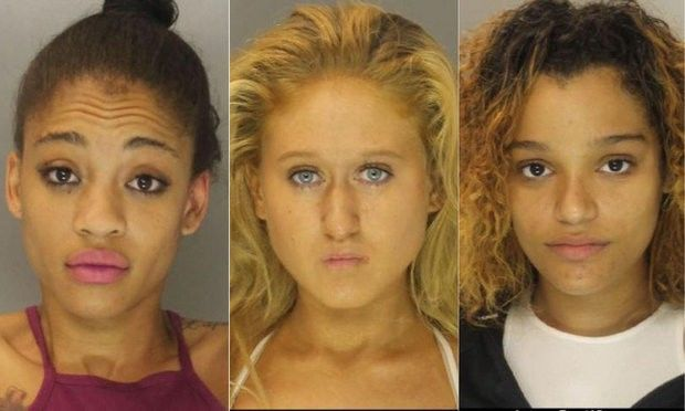 Three women facing charges after allegedly beating, robbing woman in Harrisburg