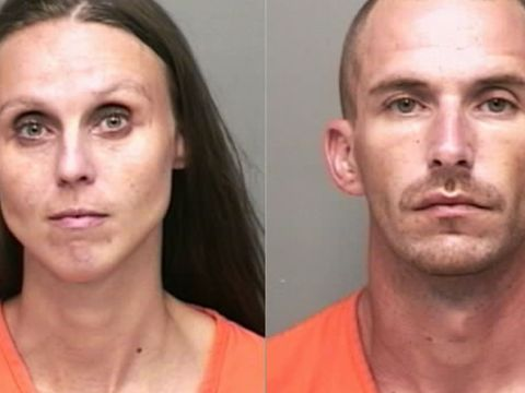 Deputies find two passed out in car with needle, active meth lab