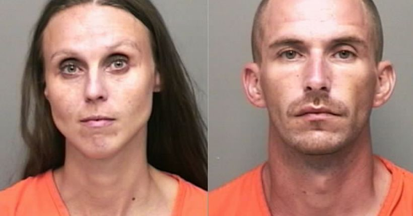 Deputies find two passed out in car with needle and active meth lab