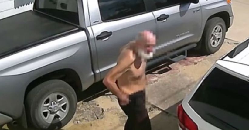 Florida police seek 'crapperman' after video catches suspect defecating in public
