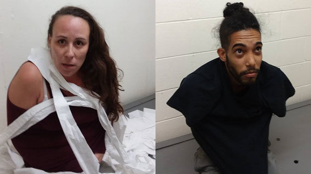 Police: suspects in toilet paper, armless mugshots said they were cold