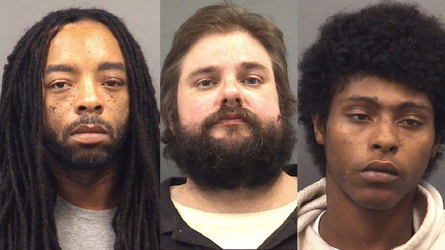 3 Rowan County men accused of robbing, kidnapping undercover officer