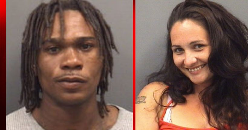 North Carolina woman smiles for mugshot after robbery, assault arrest