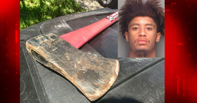 Ax-wielding boyfriend saves girlfriend from Florida home invasion