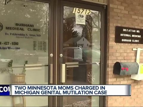 Moms charged in metro Detroit female genital mutilation case