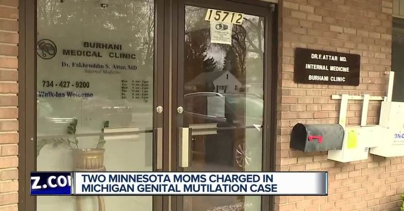 Minnesota mothers charged in metro Detroit female genital mutilation case