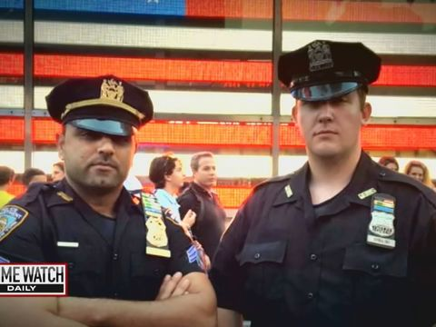 'Badge of Honor': NYPD hero cops dispose of Times Square bomb