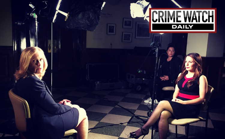 New York City Special Narcotics Prosecutor Bridget G. Brennan and Crime Watch Daily Special Legal Correspondent Amy Dash - Photo Courtesy of Crime Watch Daily with Chris Hansen
