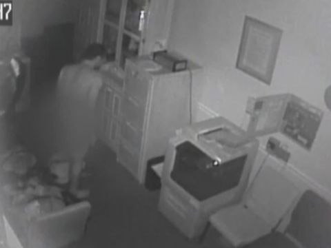 Man caught on camera stealing dead man's clothes from funeral home