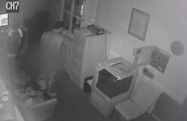 Man caught on camera stealing dead man's clothes, keys to hearse from funeral home