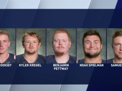 5 Wheaton College football players charged in hazing incident