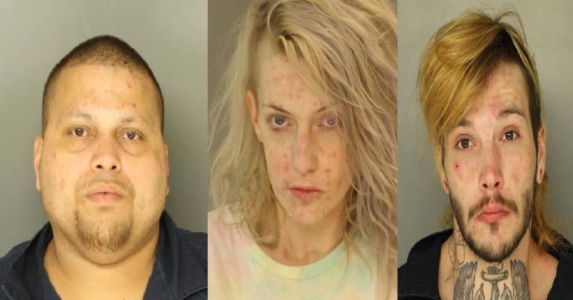 Three Lancaster residents facing charges after traffic stop reveals large quantity of drugs