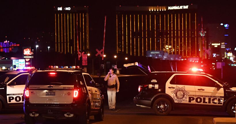 2 off-duty sheriff's department members, off-duty LAPD officer, wounded in Las Vegas shooting