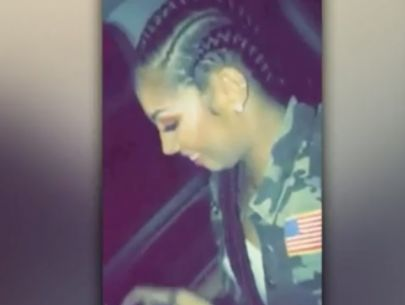 Woman in disturbing Snapchat video arrested; rapper on the run
