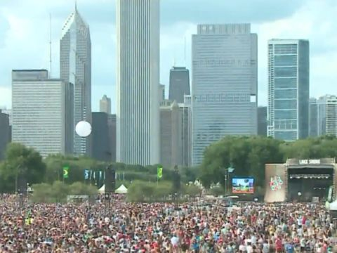 Las Vegas gunman booked hotel overlooking Lollapalooza, report says