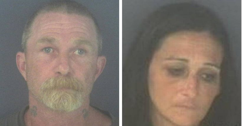 Couple accused of prostituting young girl for 13 years in exchange for drugs