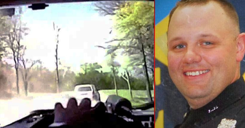 Hero cop survives execution attempt after pursuit, shootout