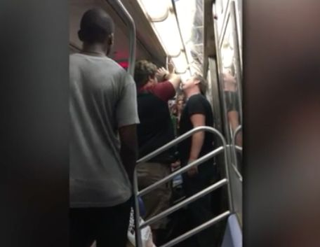 Rapper takes credit for throwing hot soup at subway rider shouting racial slurs
