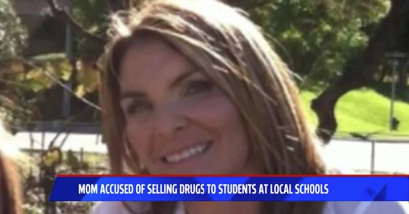High school mother accused of selling drugs to students