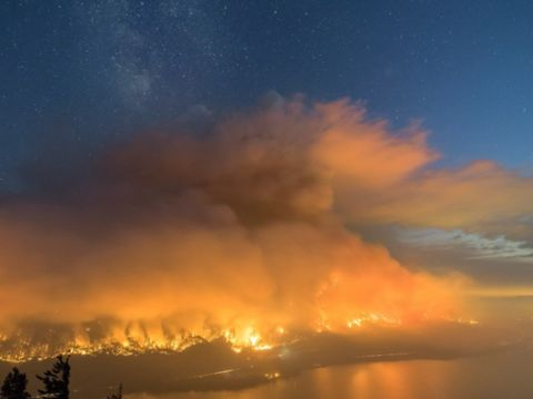 Boy charged after teens allegedly giggled while setting Oregon wildfire