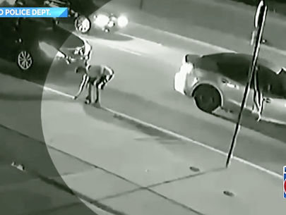 Video: Man steals property as crash victim dies nearby