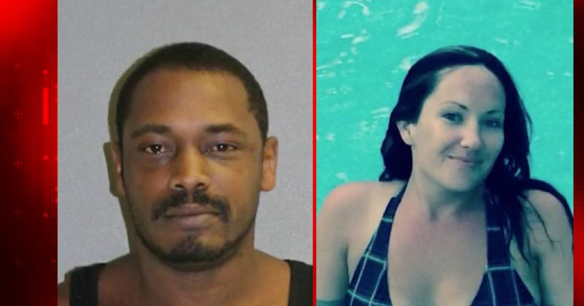 Convicted felon accused of killing woman with her own vehicle