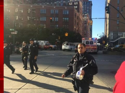 At least 8 dead, 11 injured by truck in NYC; 1 in custody