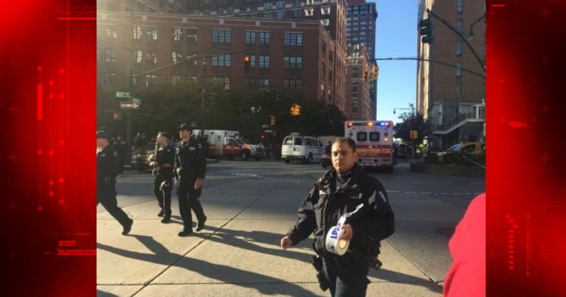 'Act of terror:' At least 8 dead, 11 injured in truck rampage on lower Manhattan bike path; 'lone wolf' suspect in custody