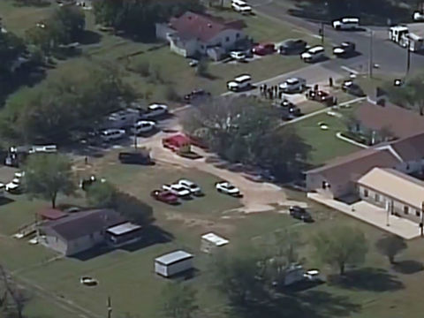 Multiple people dead in Texas church shooting