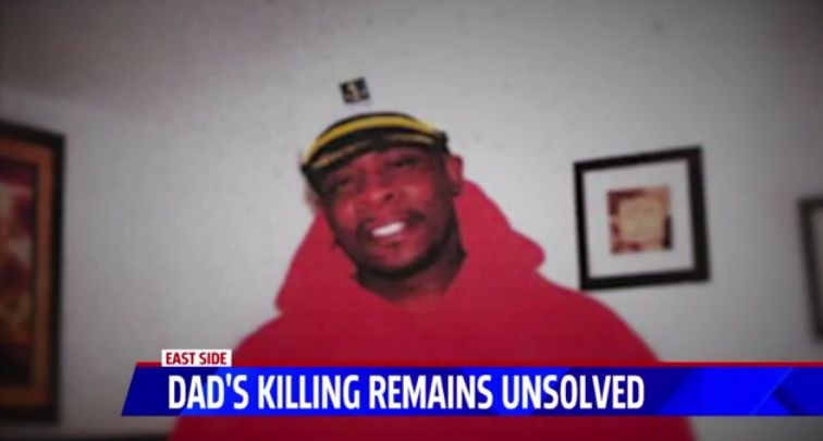 Murder of father with 16 kids remains unsolved 1 year later; video shows suspect's car