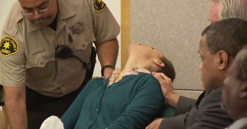 Guilty verdicts in Carlsbad murder-for-hire plot interrupted when defendant faints
