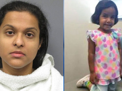 Sherin Mathews' mother arrested, charged with child endangerment